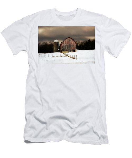 Men's T-Shirt (Slim Fit) featuring the photograph Acorn Acres by Julie Hamilton