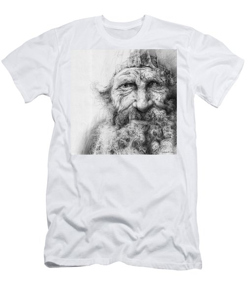 Adam. Series Forefathers Men's T-Shirt (Athletic Fit)