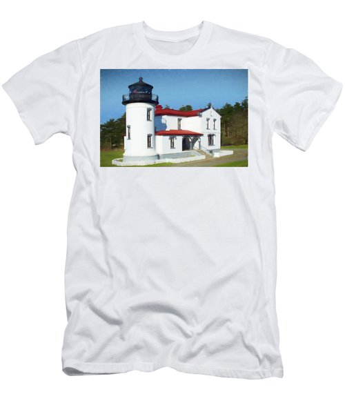 Admiralty Head Lighthouse #2 Men's T-Shirt (Athletic Fit)