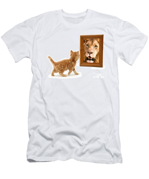 Admiring The Lion Within Men's T-Shirt (Athletic Fit)