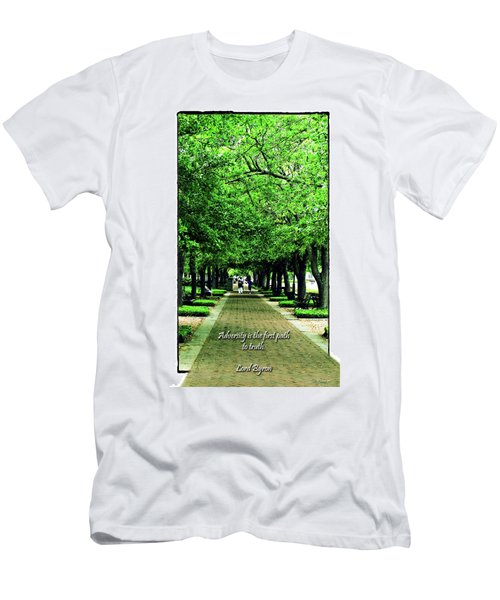 Adversity Quote Men's T-Shirt (Athletic Fit)