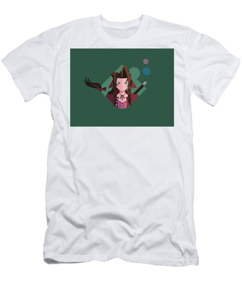 Men's T-Shirt (Slim Fit) featuring the digital art Aeris by Michael Myers