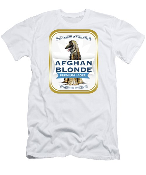 Afghan Blonde Premium Lager Men's T-Shirt (Athletic Fit)