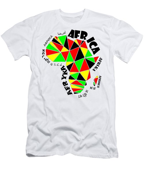 Africa Continent Men's T-Shirt (Athletic Fit)