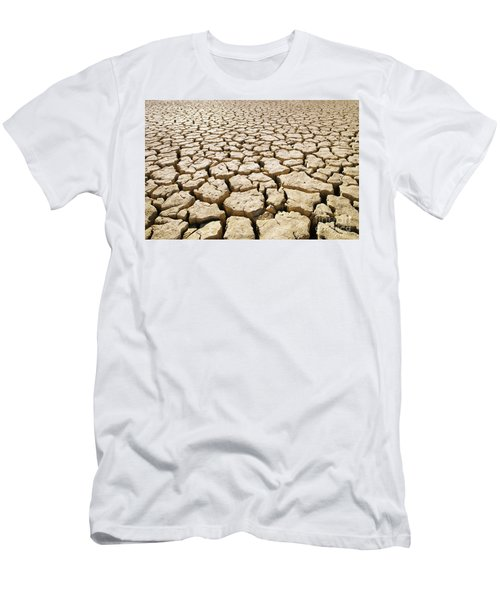 Africa Cracked Mud Men's T-Shirt (Athletic Fit)