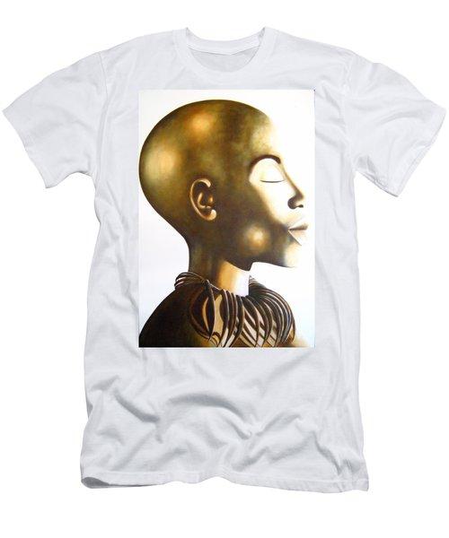 African Elegance Sepia - Original Artwork Men's T-Shirt (Athletic Fit)