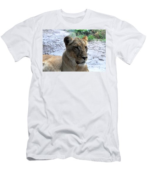 Men's T-Shirt (Slim Fit) featuring the photograph African Queen by John Black