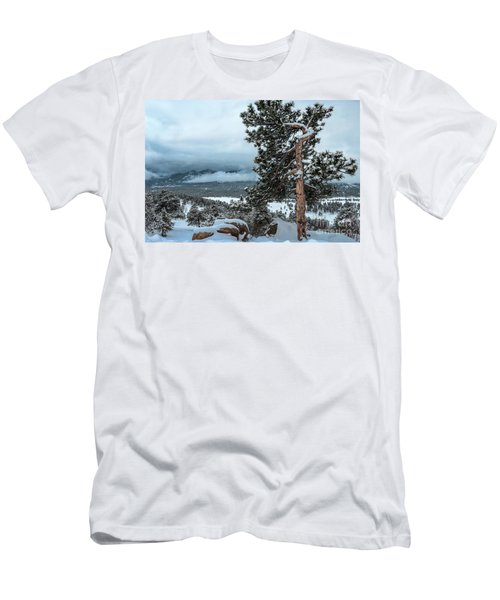After The Snow - 0629 Men's T-Shirt (Athletic Fit)