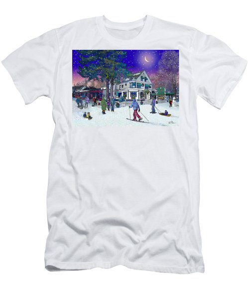 After The Storm At Woodstock Inn Men's T-Shirt (Athletic Fit)
