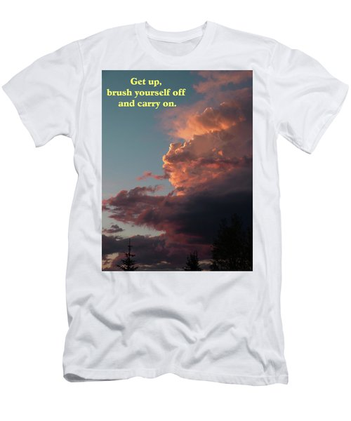 After The Storm Carry On Men's T-Shirt (Slim Fit) by DeeLon Merritt