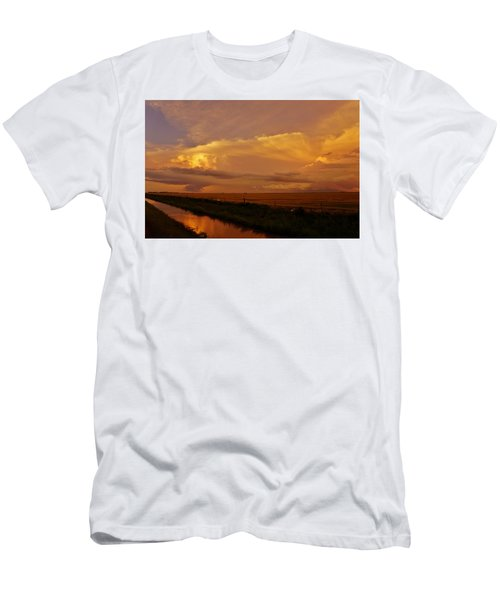 Men's T-Shirt (Athletic Fit) featuring the photograph After The Storm by Ed Sweeney