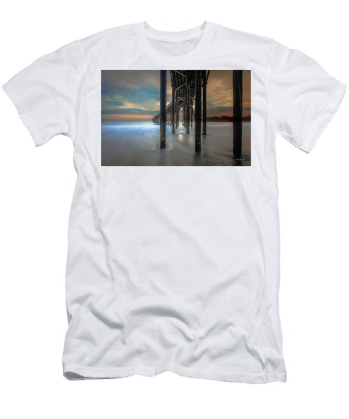Afterglow At San Simeon Men's T-Shirt (Athletic Fit)