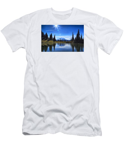 Afternoon Delight 2 Men's T-Shirt (Slim Fit) by Lynn Hopwood