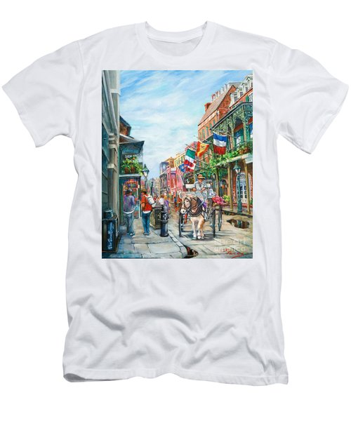 Afternoon On St. Ann Men's T-Shirt (Athletic Fit)