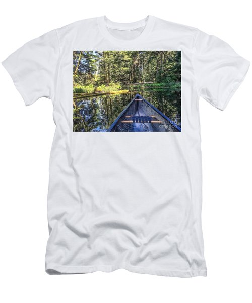 Men's T-Shirt (Slim Fit) featuring the photograph Afternoon Paddle by William Wyckoff