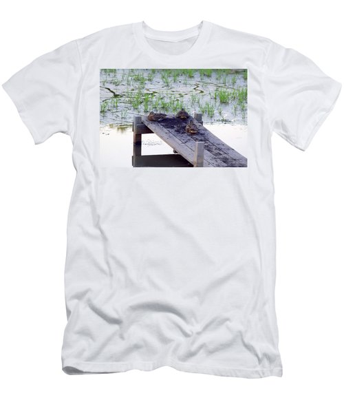 Men's T-Shirt (Athletic Fit) featuring the photograph Afternoon Rest by Deborah  Crew-Johnson