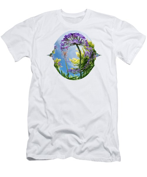 Agapanthus Dance Men's T-Shirt (Athletic Fit)