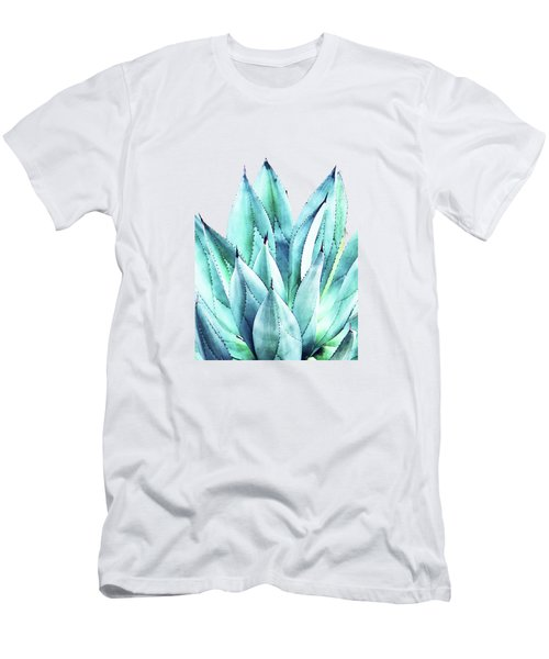 Agave Vibe Men's T-Shirt (Slim Fit) by Uma Gokhale
