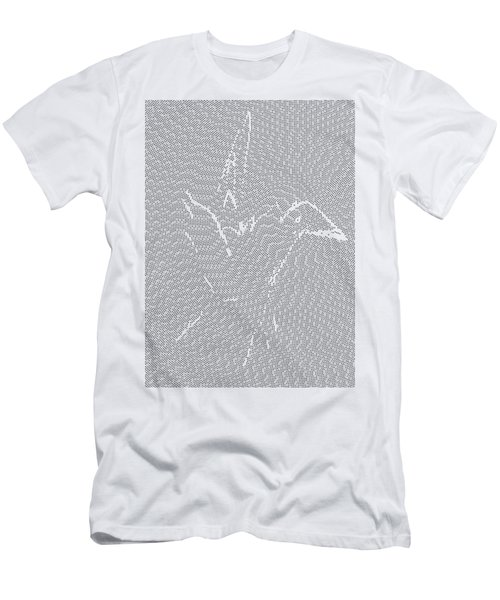 Men's T-Shirt (Athletic Fit) featuring the digital art Aibird by Robert Thalmeier