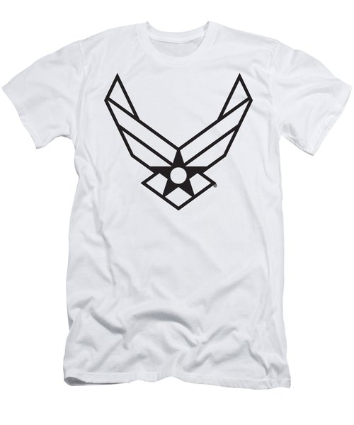 Air Force Logo Men's T-Shirt (Athletic Fit)