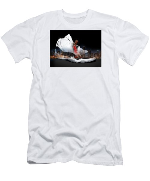 Air Jordan Chicago Men's T-Shirt (Athletic Fit)