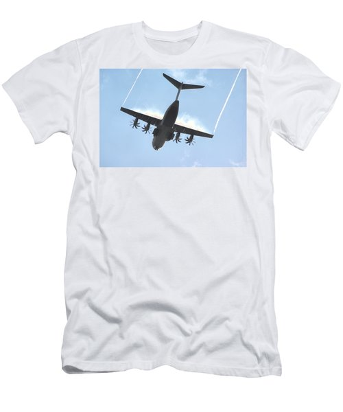 Airbus A400m Men's T-Shirt (Athletic Fit)