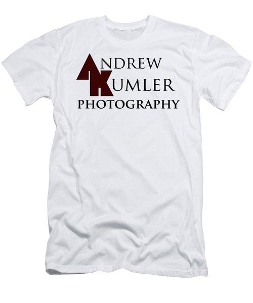 Ak Photo Logo Men's T-Shirt (Athletic Fit)