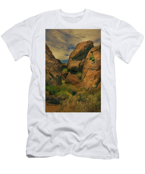 Alabama Hills - Eastern Sierras - Two Men's T-Shirt (Athletic Fit)
