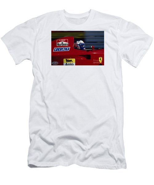 Alain Prost. 1990 French Grand Prix Men's T-Shirt (Athletic Fit)