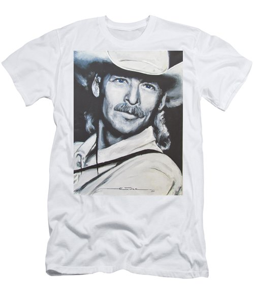 Alan Jackson - In The Real World Men's T-Shirt (Athletic Fit)