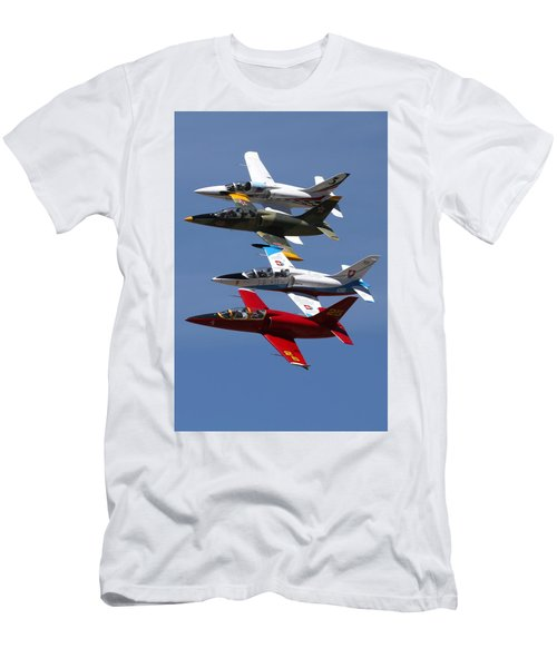 Albtatros Fly-by At The Hollister Air Show Men's T-Shirt (Athletic Fit)
