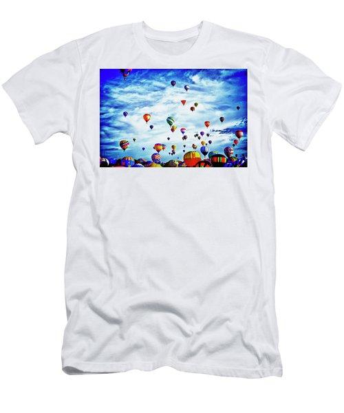 Albuquerque Blues Men's T-Shirt (Athletic Fit)