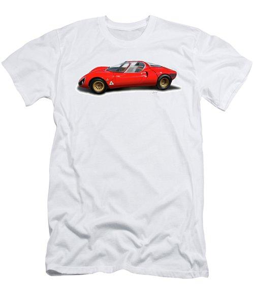 Alfa Romeo 33 Stradale 1967 Men's T-Shirt (Athletic Fit)