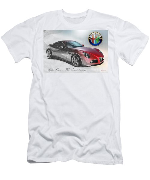 Alfa Romeo 8c Competizione  Men's T-Shirt (Athletic Fit)