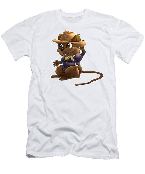 Deputy Alfred Men's T-Shirt (Slim Fit) by Reynold Jay