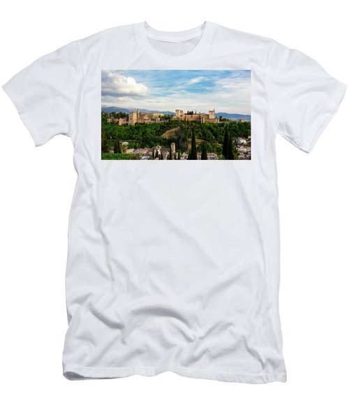 Alhambra In The Evening Men's T-Shirt (Athletic Fit)