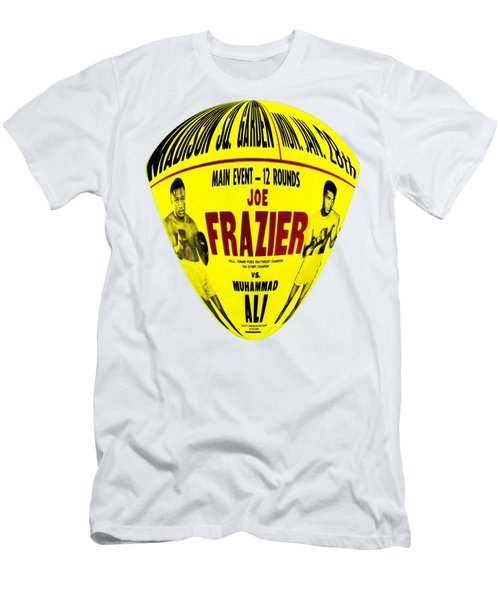 Ali Vs Frazier II Men's T-Shirt (Athletic Fit)