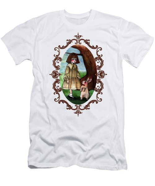 Alice Pleasance Liddel Men's T-Shirt (Slim Fit) by Akiko Okabe