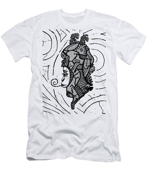 Alien Woman Men's T-Shirt (Athletic Fit)