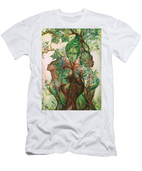 Alive Tree Men's T-Shirt (Athletic Fit)