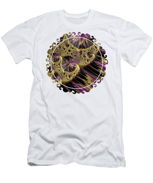 All That Glitters Men's T-Shirt (Slim Fit) by Becky Herrera