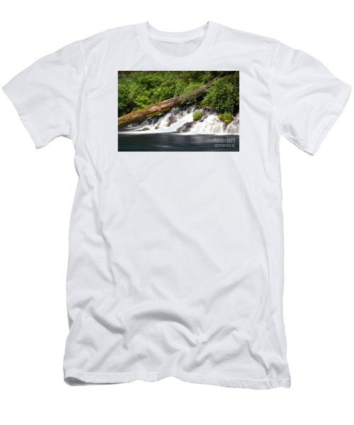 Allen Springs On The Metolius River Men's T-Shirt (Athletic Fit)