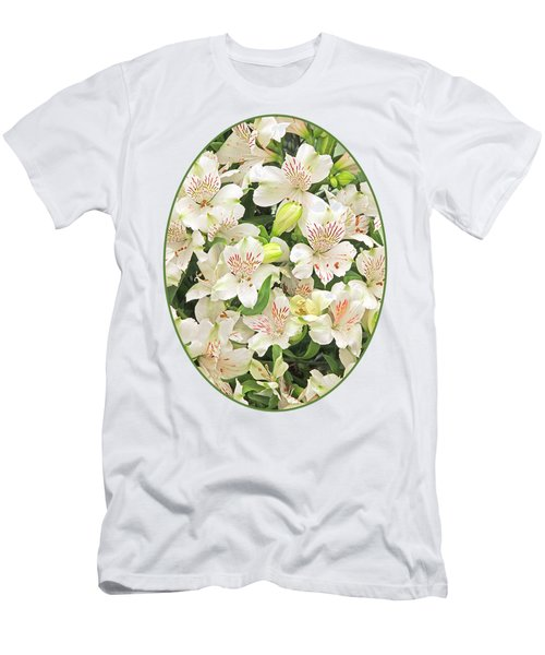 Alluring Alstroemeria - Peruvian Lilies Men's T-Shirt (Athletic Fit)