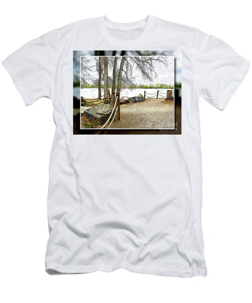 Almost Spring At Lafayette Lake Men's T-Shirt (Athletic Fit)