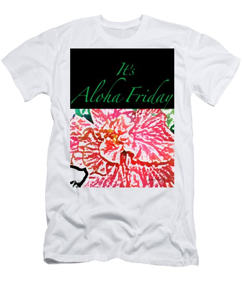 Aloha Friday T-shirt Men's T-Shirt (Slim Fit) by James Temple