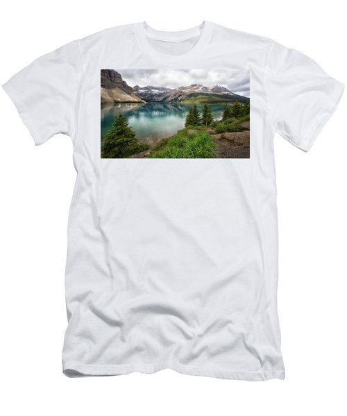 Along Icefields Parkway Men's T-Shirt (Athletic Fit)