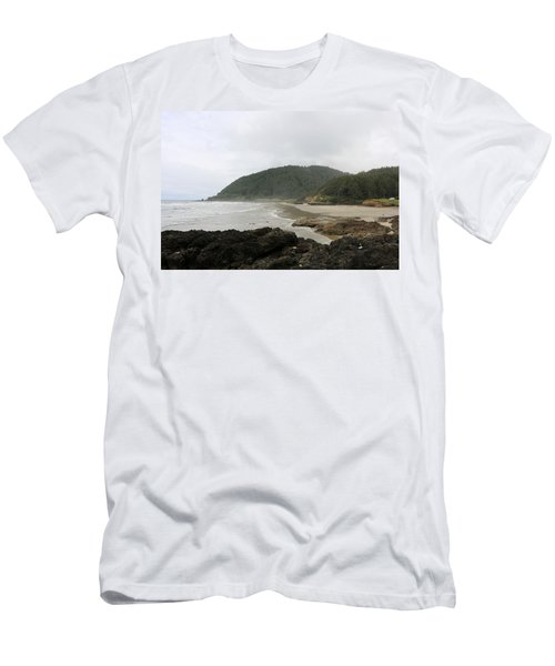 Along The Oregon Coast - 3 Men's T-Shirt (Athletic Fit)