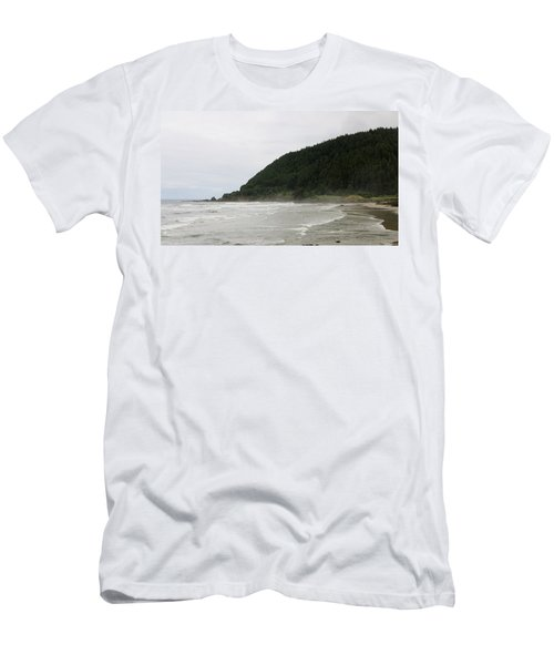 Along The Oregon Coast - 4 Men's T-Shirt (Athletic Fit)