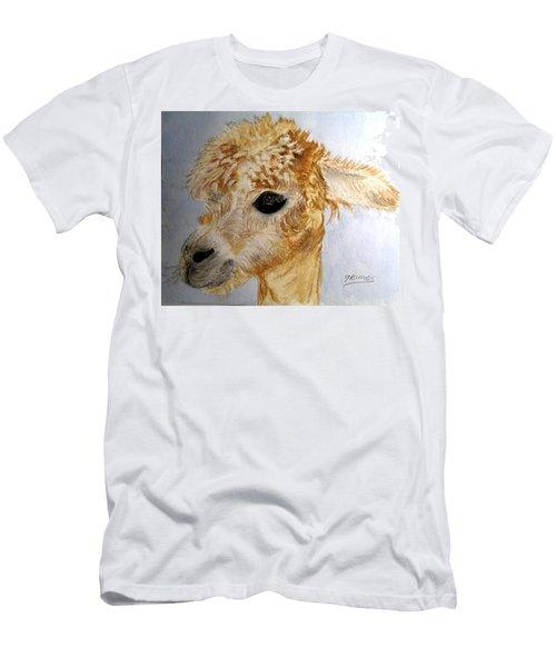 Alpaca Cutie Men's T-Shirt (Athletic Fit)