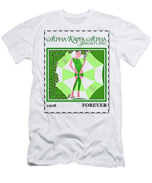 Alpha Kappa Alpha Men's T-Shirt (Slim Fit) by Lynda Payton